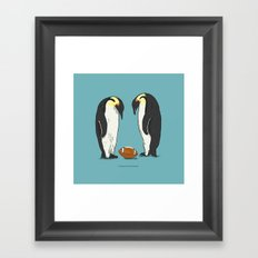 Prepare for the unexpected Framed Art Print
