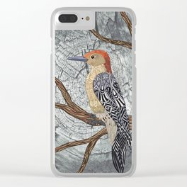 Woodpecker Clear iPhone Case
