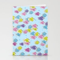 school Stationery Cards featuring School by Rebel June