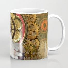 Steampunk, cute cat Coffee Mug