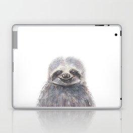 happy sloth Laptop & iPad Skin