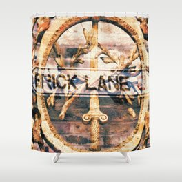 Paris-London Shower Curtain