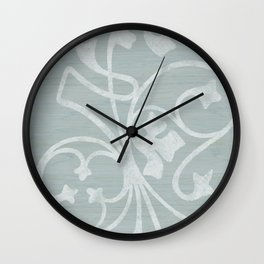 Rejas Grey Wall Clock