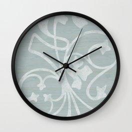Rejas Grey Wall Clock