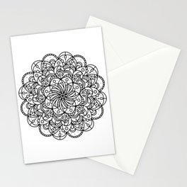 Floral Reflection Stationery Cards