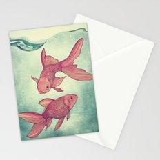 Goldfishes Stationery Cards