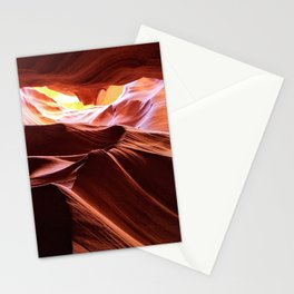Antelope Canyon: Look up Stationery Cards
