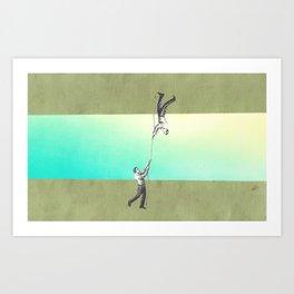 ropes 5 Art Print