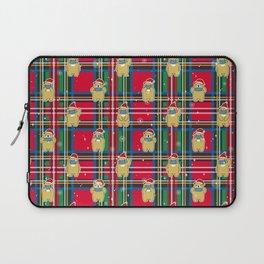 Merry & Safe Christmas Bear Laptop Sleeve