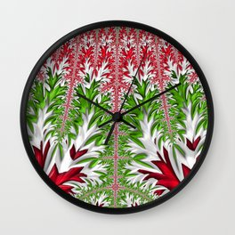 Christmas Crazy Wall Clock