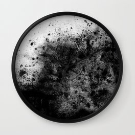 The Sherry / Charcoal + Water Wall Clock