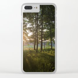 Dusk to Dawn Clear iPhone Case