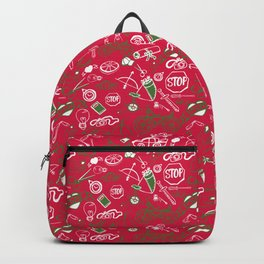 Traditional Christmas Medley - by Jezli Pacheco Backpack