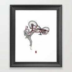 Pee Wee Herman #3 Framed Art Print