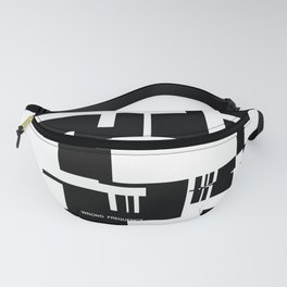 Wrong Frequency Fanny Pack