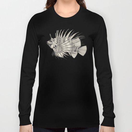 fish mirage chartreuse Long Sleeve T-shirt