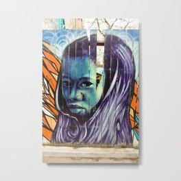 Kensington Street Art  Metal Print