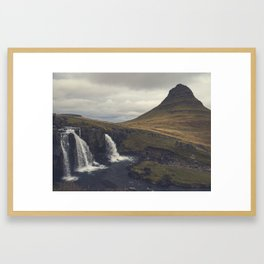 Kirkjufell, Snæfellsnes Pennsula, Iceland Framed Art Print