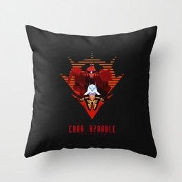 012 Char Zaku Throw Pillow