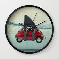 isetta shark Wall Clock