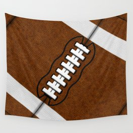 Fantasy Football Super Fan Touch Down Wall Tapestry