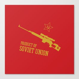 Dragunov SVD (Product of SOVIET UNION) Canvas Print