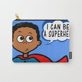 I Can Be A Superhero Carry-All Pouch