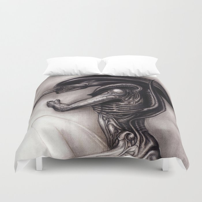 Duvet Covers.Alien Xenomorph Duvet Cover By Dendareloaded
