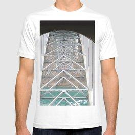 Below Rainbow International Bridge T-shirt