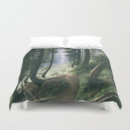 To The Falls Duvet Cover