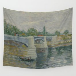 The Bridge at Courbevoie Wall Tapestry