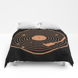 The Vinyl System Comforters