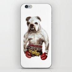 killer dog iPhone & iPod Skin