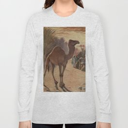 Vintage Camel Painting (1909) Long Sleeve T-shirt