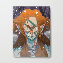 The Huntress Metal Print