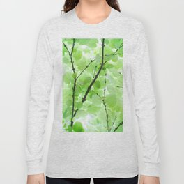 Under the Trees in a Summer Rainstorm  #decor #society6 #buyart Long Sleeve T-shirt