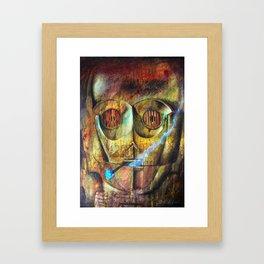 Rebel C3Po painting Framed Art Print