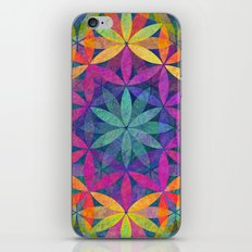 The Flower of Life variation iPhone & iPod Skin