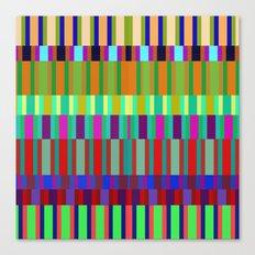 Crazy lines Canvas Print