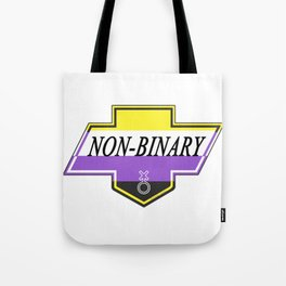 Identity Stamp: Non Binary Tote Bag