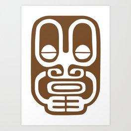 Tiki Mod 03 Art Print