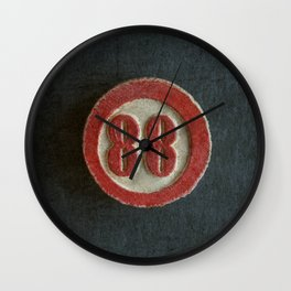 Eighty Eight Wall Clock