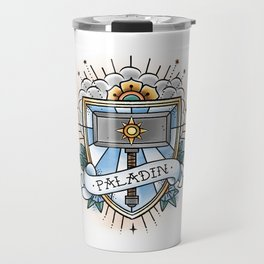 Paladin - Vintage D&D Tattoo Travel Mug