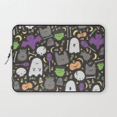 Kawaii Halloween - Black Laptop Sleeve