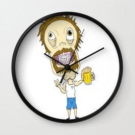 Beer Man Wall Clock