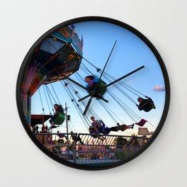 Fun at the County Fair Wall Clock