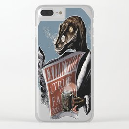 EXTINCTION Clear iPhone Case