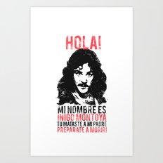 Inigo Montoya Art Print