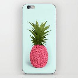 PINEAPPLE ROSES iPhone Skin