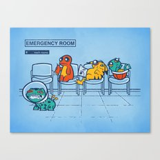 Emergency Room Canvas Print